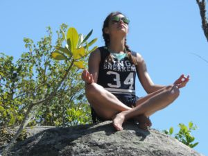Baum Yoga für Entspannung und innere Verbundenheit